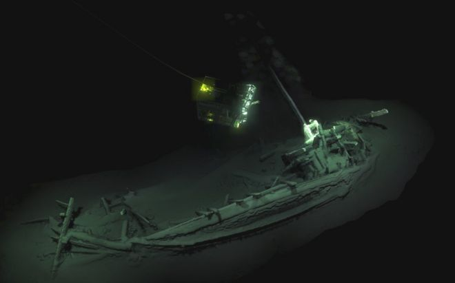 Shipwreck found in Black Sea is world s oldest intact BBC News