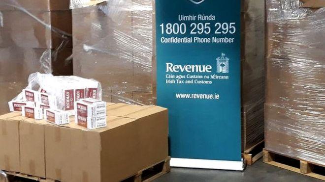 Two million cigarettes seized at Dublin Port - BBC News
