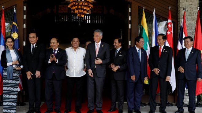 東盟(ASEAN)外長會議和領導人峰會