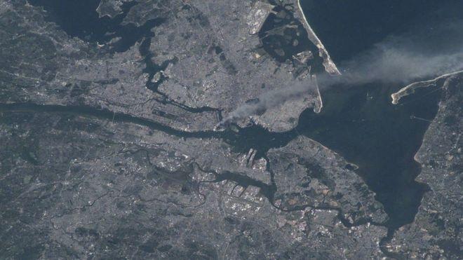 Resultado de imagen de atentado 11S estacion espacial internacional
