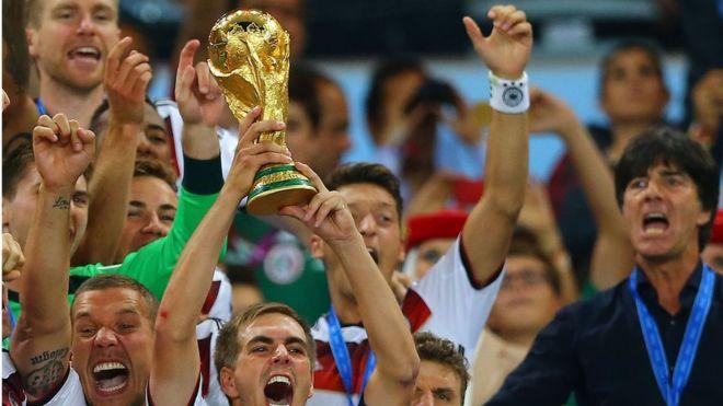 2014年,德國隊第四次捧起