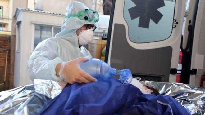 Paciente en Irán