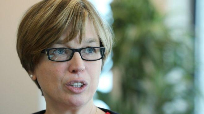 Catherine De Bolle, directora ejecutiva de Europol