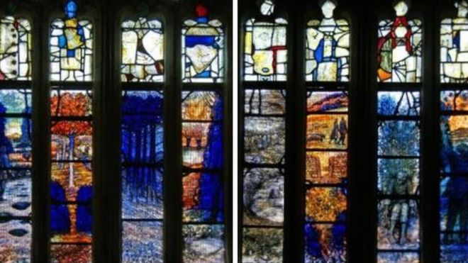 Stained glass by Glenny
