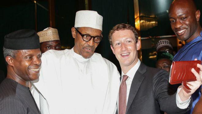 Shugaban Facebook, Marck Zukerberg ya ziyarci fadar shugaban da ya ziyarci Najeriya kwanakin baya