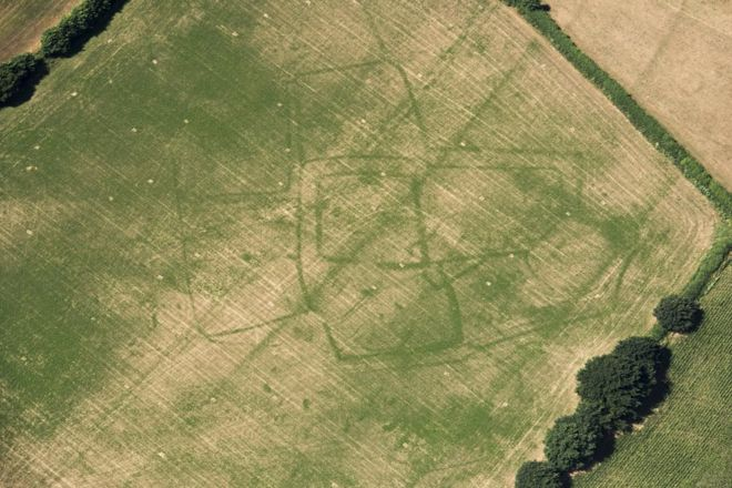 Fazenda romana em Bicton