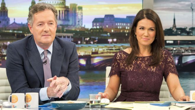Susanna Reid in 'constant battle' with Piers Morgan - BBC News