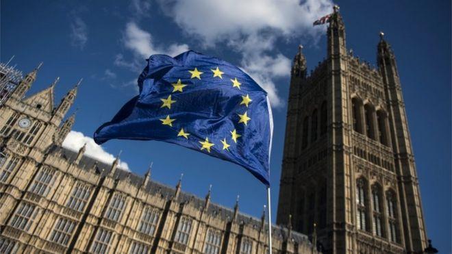Флаг ЕС за пределами Вестминстера