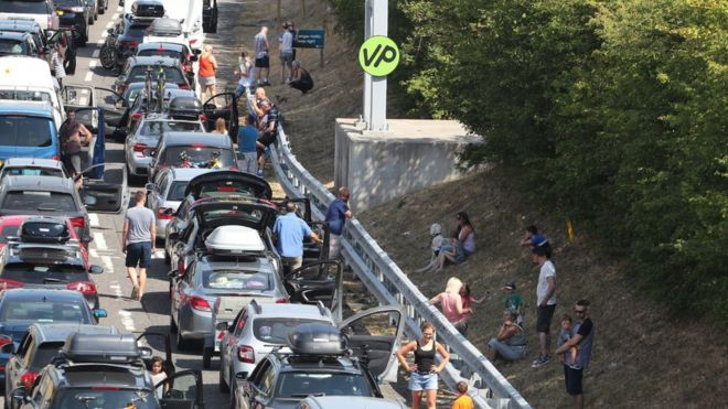 Channel Tunnel Rail Delays Due To Heat Eurotunnel Says Bbc News