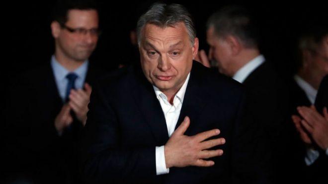 Viktor Orban seçimlerin ardından destekçilerine seslendi