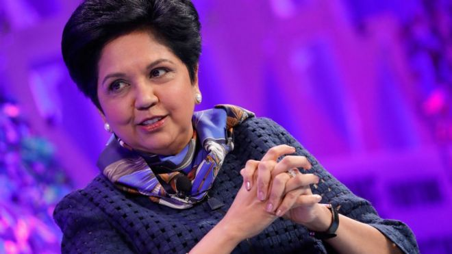 Indra Nooyi to step down as PepsiCo chief executive - BBC News ee6b109fae69