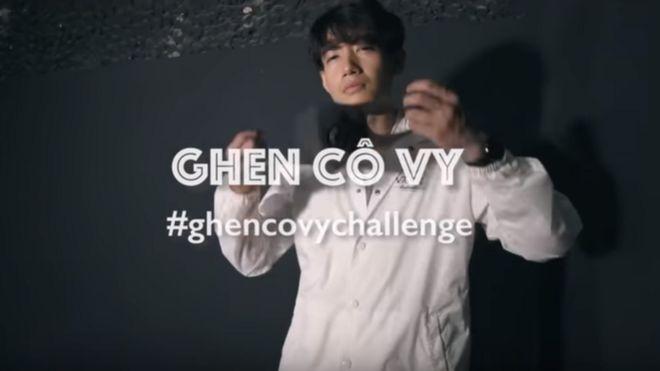 'Ghen Cô Vy challenge' trên YouTube