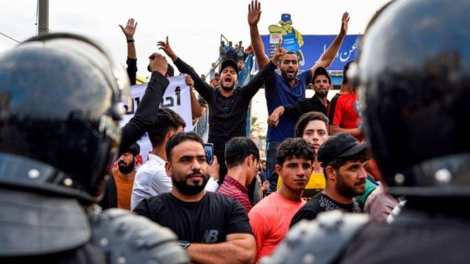 Bildergebnis für اعتراضات در عراق