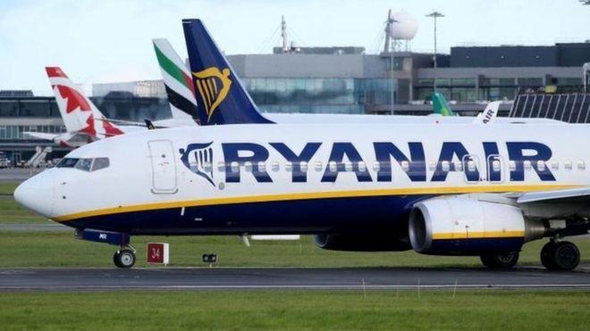 Ryanair buoyant despite cancellations - BBC News