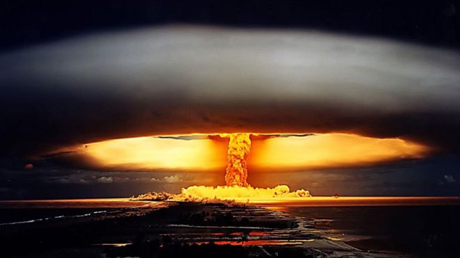 Resultado de imagen de La explosión atómica