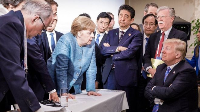 Resultado de imagen de g7, trump