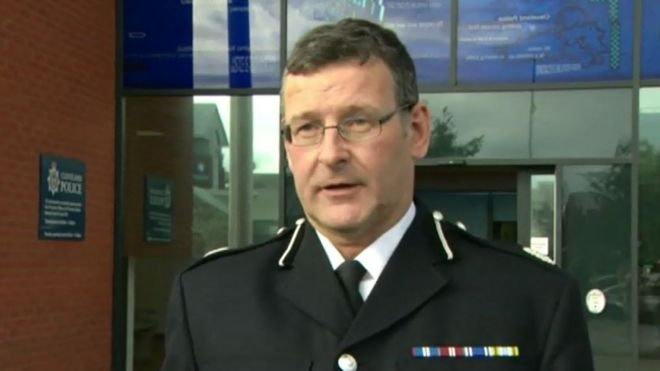 Cleveland Police assistant chief constable Adrian Roberts arrested