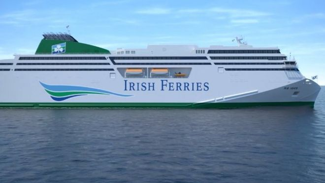 f991f368af Customer fury over Irish Ferries cancellations - BBC News