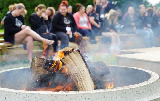 Ceremonia del fuego