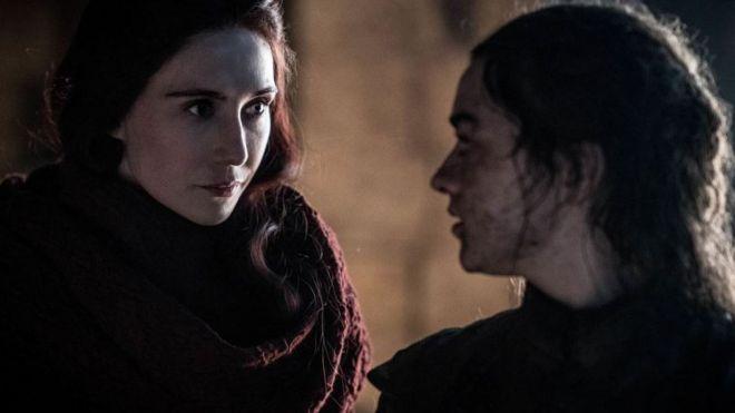 Melisandre e Arya