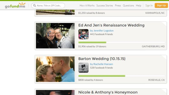Is it OK to use family and friends to crowdfund your wedding