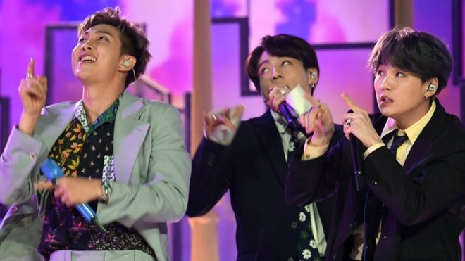 BTS's record label sues over 'malicious' posts - BBC News