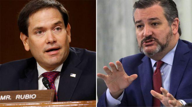 چین در پاسخ به تحریمهای آمریکا، تد کروز و مارکو روبیو دو سناتور سرشناس را تحریم کرد