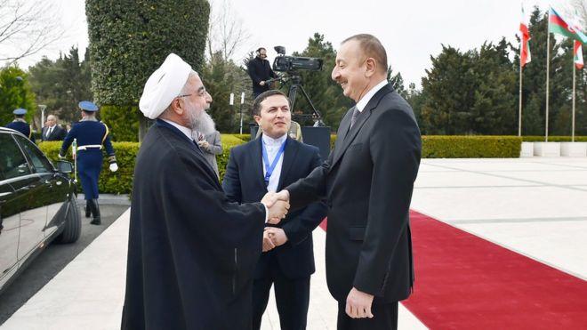 Əliyev və Ruhani