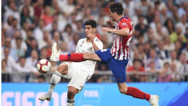 La Liga: Za a barje gumi tsakanin Real Madrid da Atletico