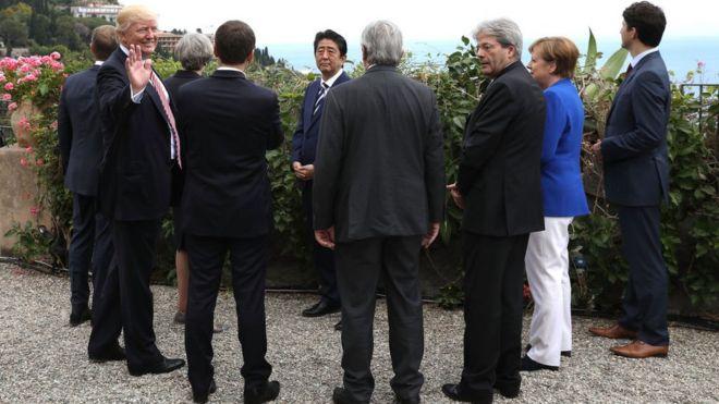 G7, Trump, Nga