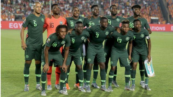 b53a716c Nigeria vs Algeria: Super Eagles deep green away jersey na blessing ...
