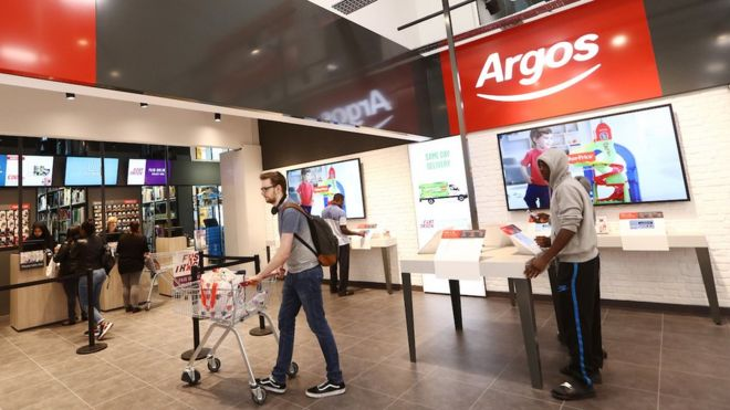 Sainsbury's pushes ahead with Argos rollout in supermarkets - BBC News