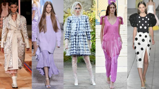 These Are The Six Biggest Fashion Looks For 2018 Bbc News