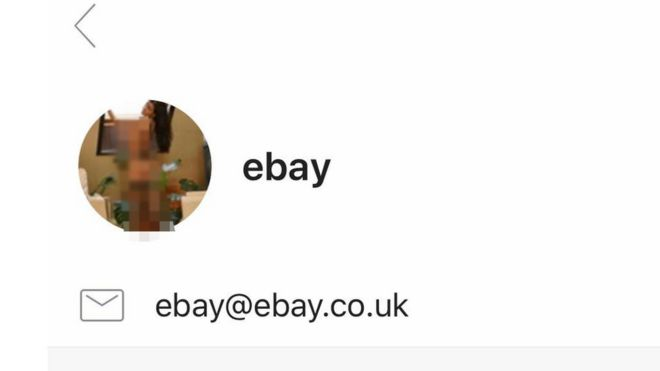 eBay investigates topless-woman icon swap error