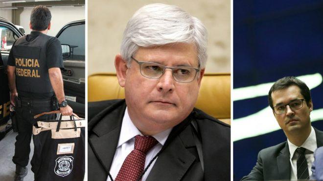 Policial federal, Rodrigo Janot e Daltan Delagnol