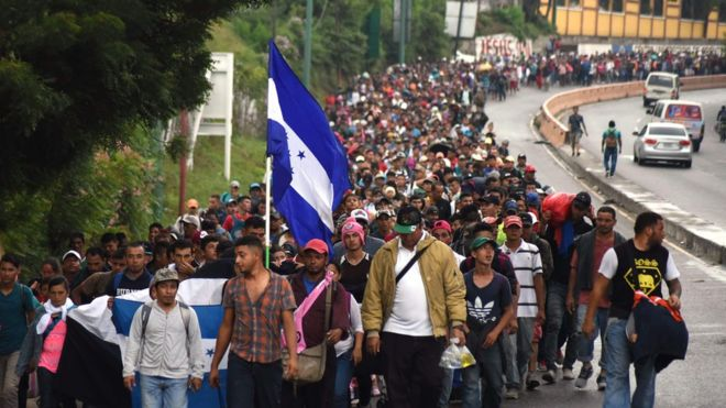 Image result for photos of migrants from honduras