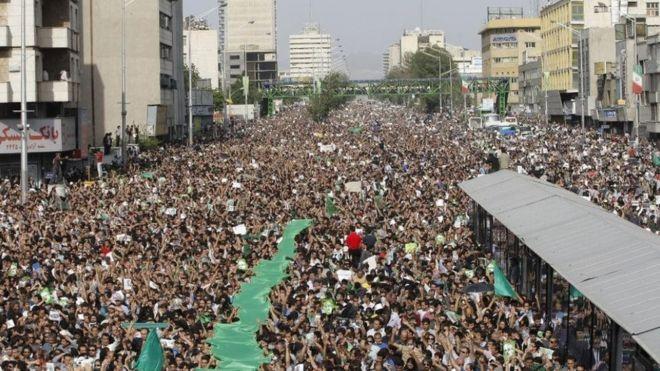 تظاهرات ۲۵ خرداد