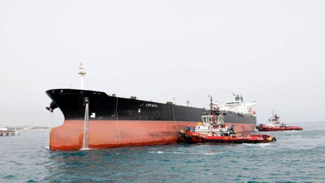 کره جنوبی 'اولین کشوری است که خرید نفت ایران را قطع کرده'