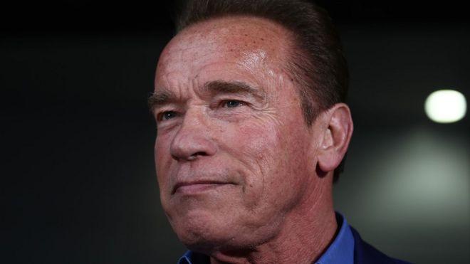 Arnold Schwarzenegger in Melbourne, Australia, 16 March 2018