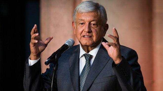 Presidente electo de México, Andrés Manuel López Obrador.