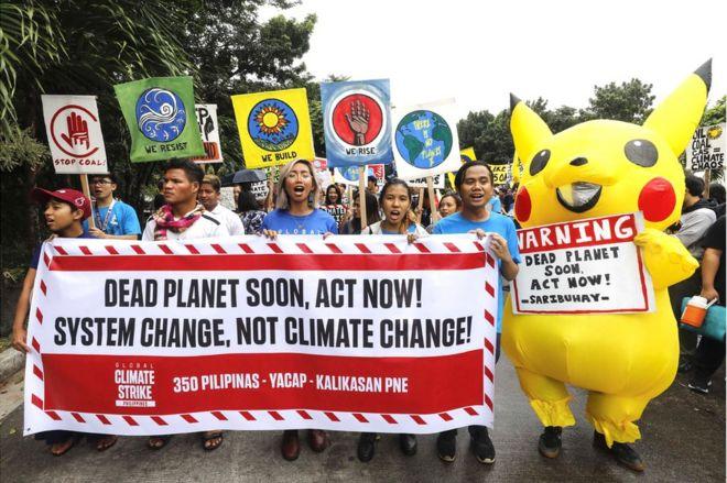 Protestas en Manila
