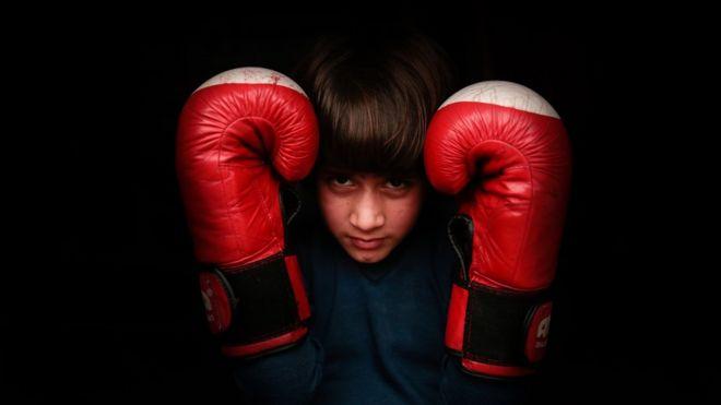 Asian girls kickboxing valuable message