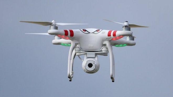 A drone. File photo