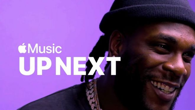 Burna Boy na Apple Music Up Next Artist - BBC News Pidgin