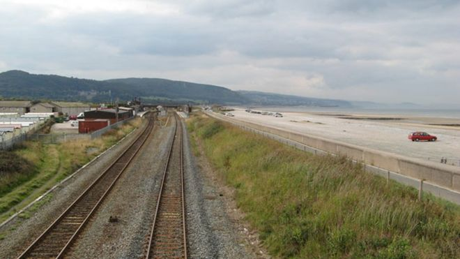 Woman killed being struck by train on Abergele crossing - BBC News