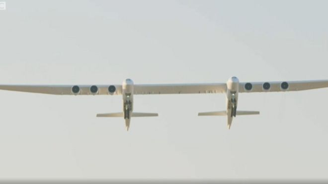 World largest plane don make im first flight - BBC News Pidgin