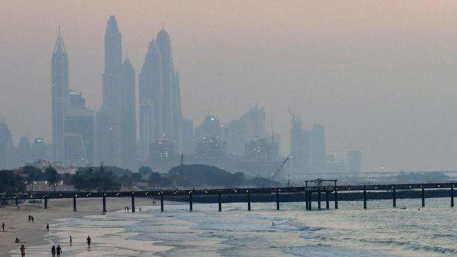 مدينة دبي في الإمارات العربية المتحدة