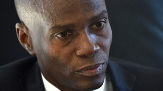 Haitian President Jovenel Moise. File photo