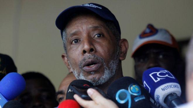 Бывший конгрессмен колумбийского государства Один Санчес.