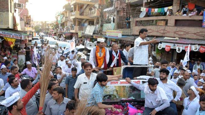 Image result for kejriwal thappad